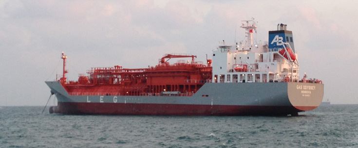 Following vessels purchased GAS ODYSSEY