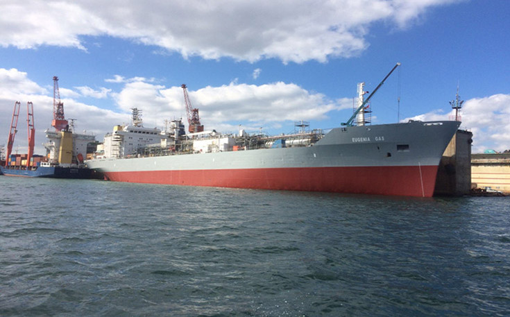 Following vessels purchased claudia gas, gemini gas, eugenia gas