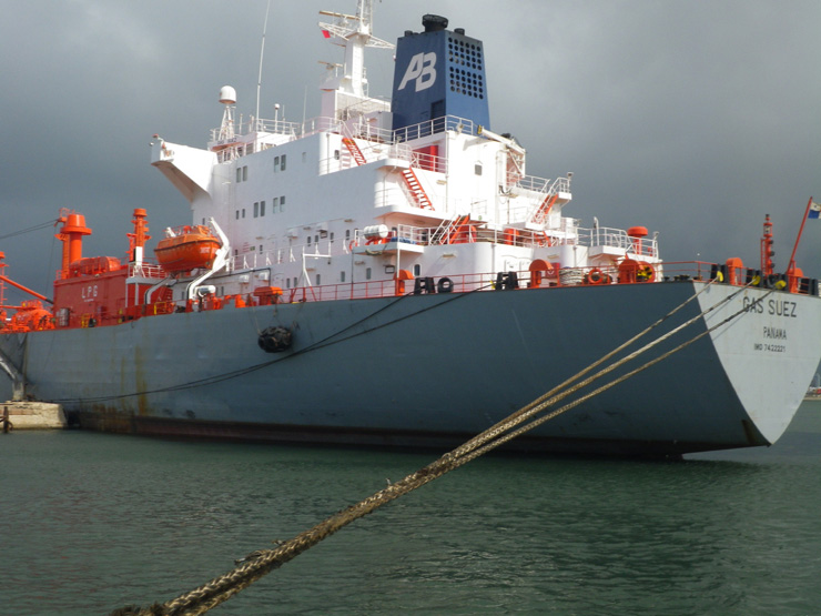 Following vessels purchased Gas Suez
